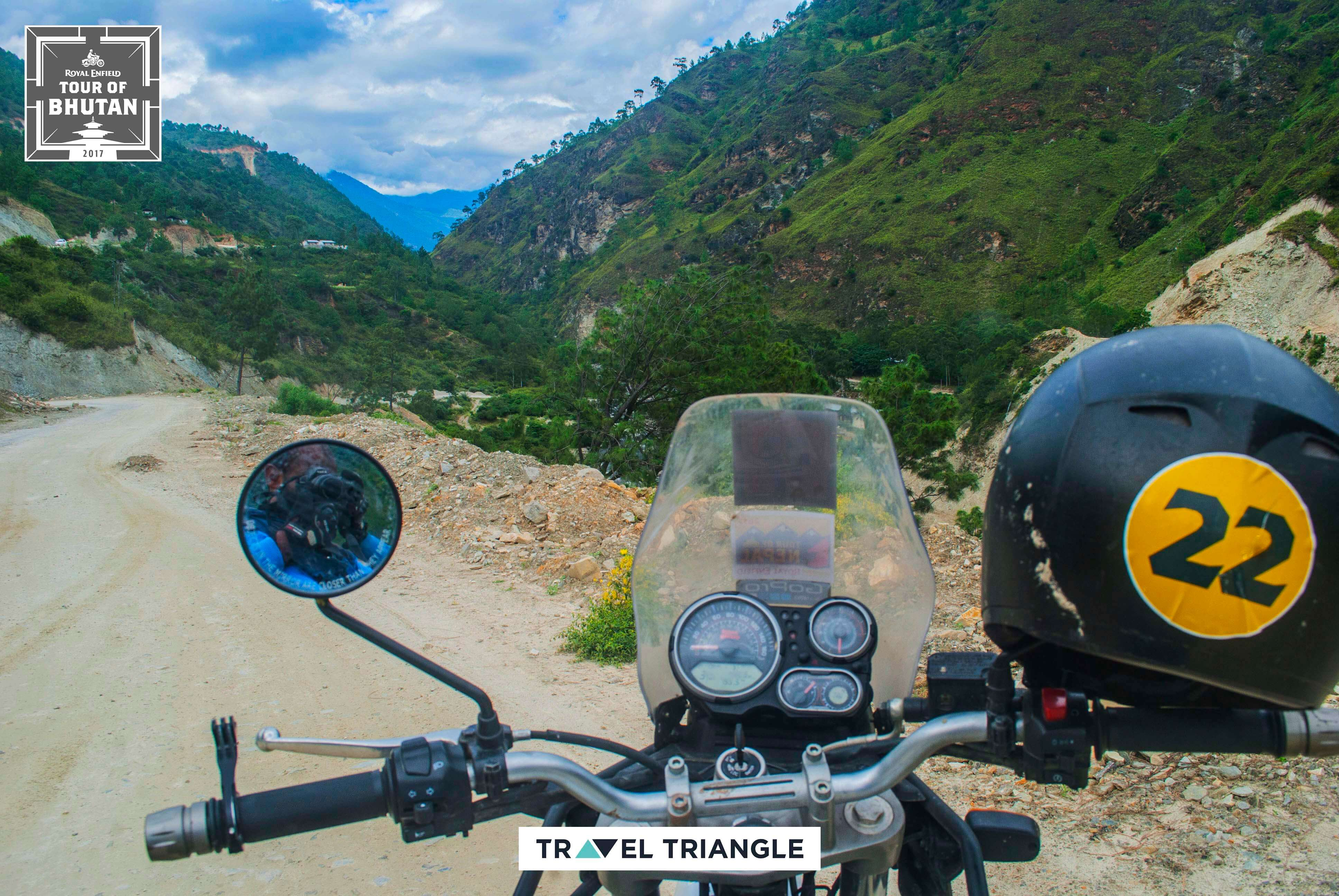 Thimphu to Punakha: the bike