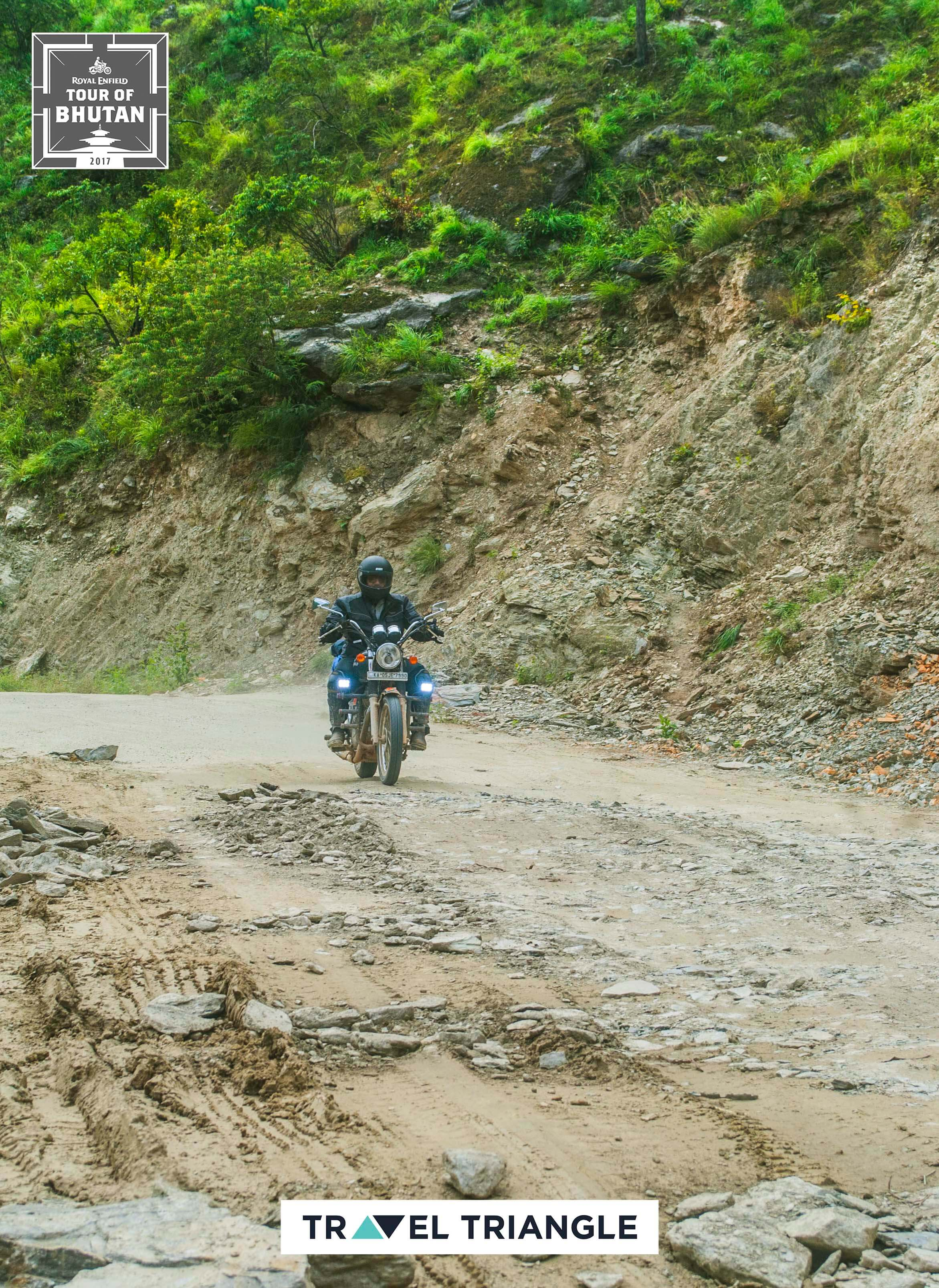 Mongar to Trashigang: riding through curvy roads