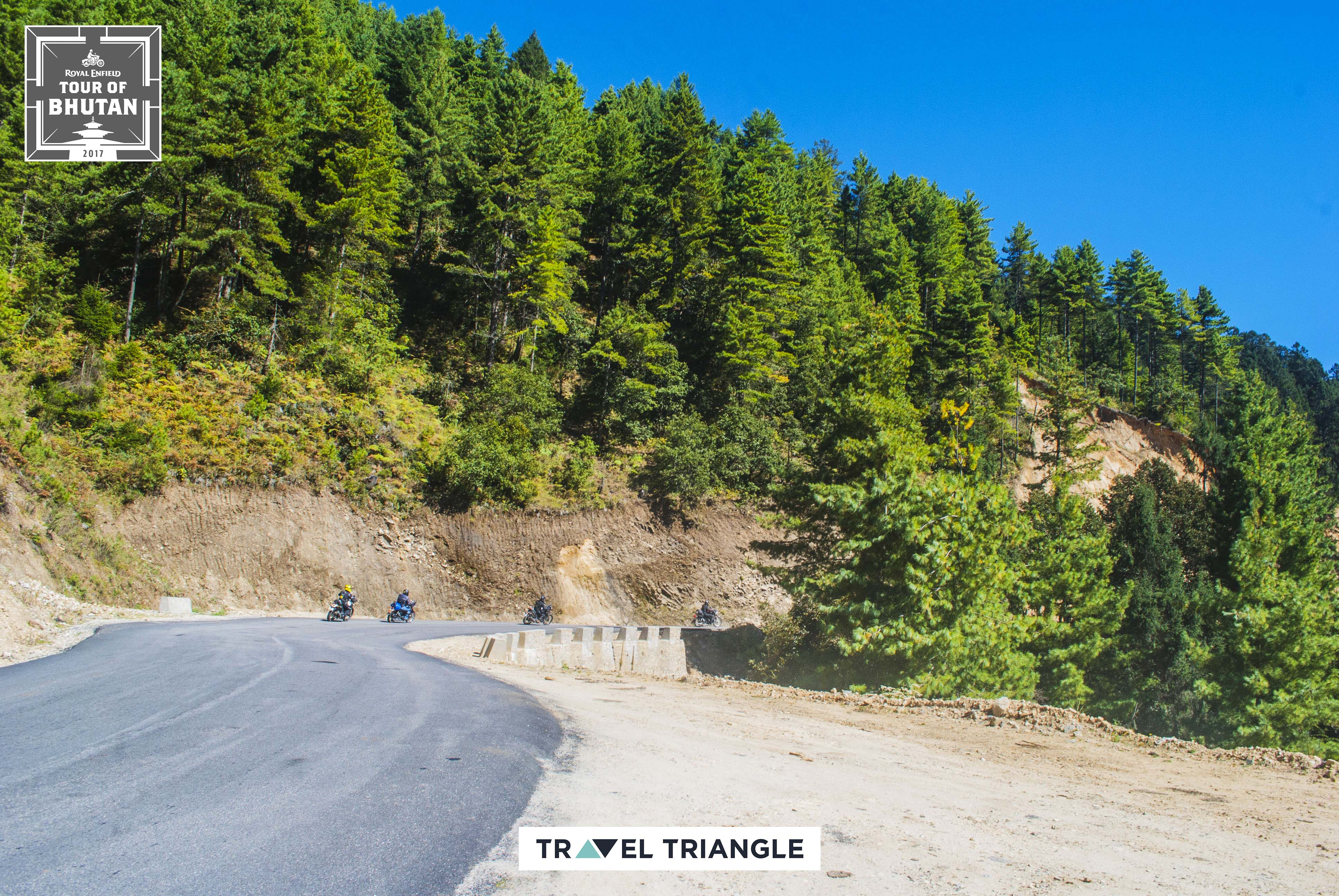 Thimphu to Punakha: the route