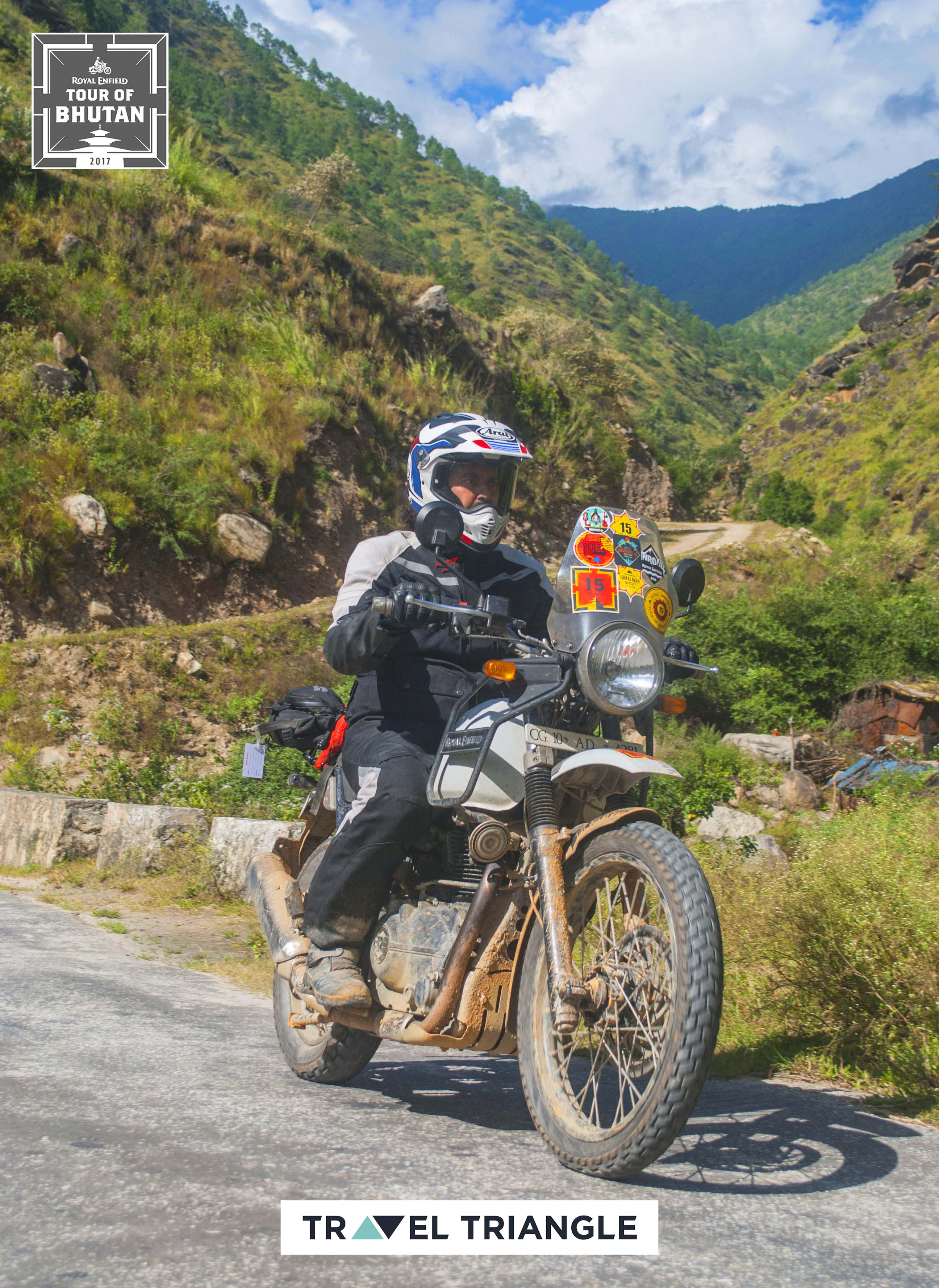 Mongar to Trashigang: a rider on his royal enfield