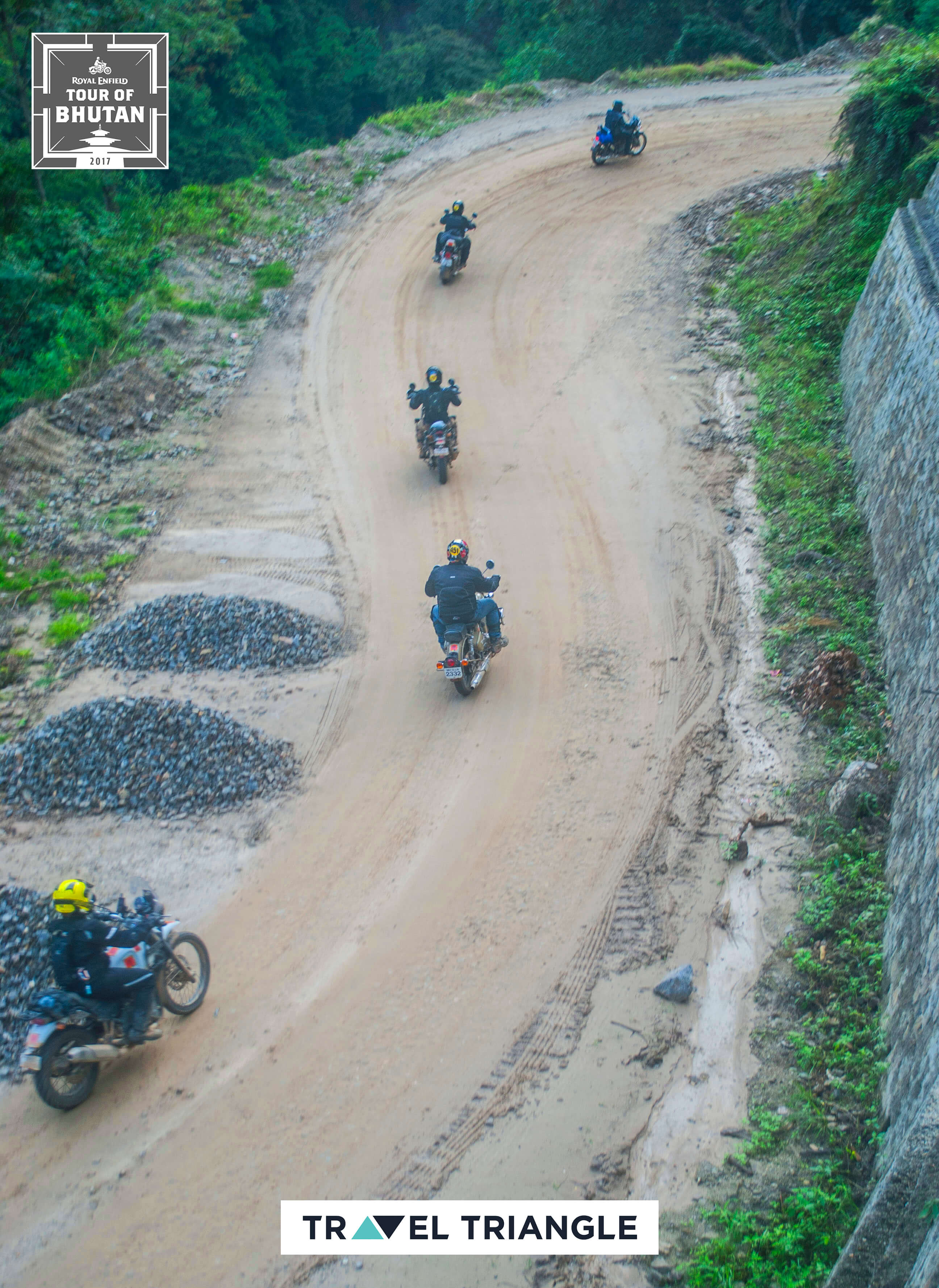 Trashigang to Samdrup Jongkhar: the riders making their way together