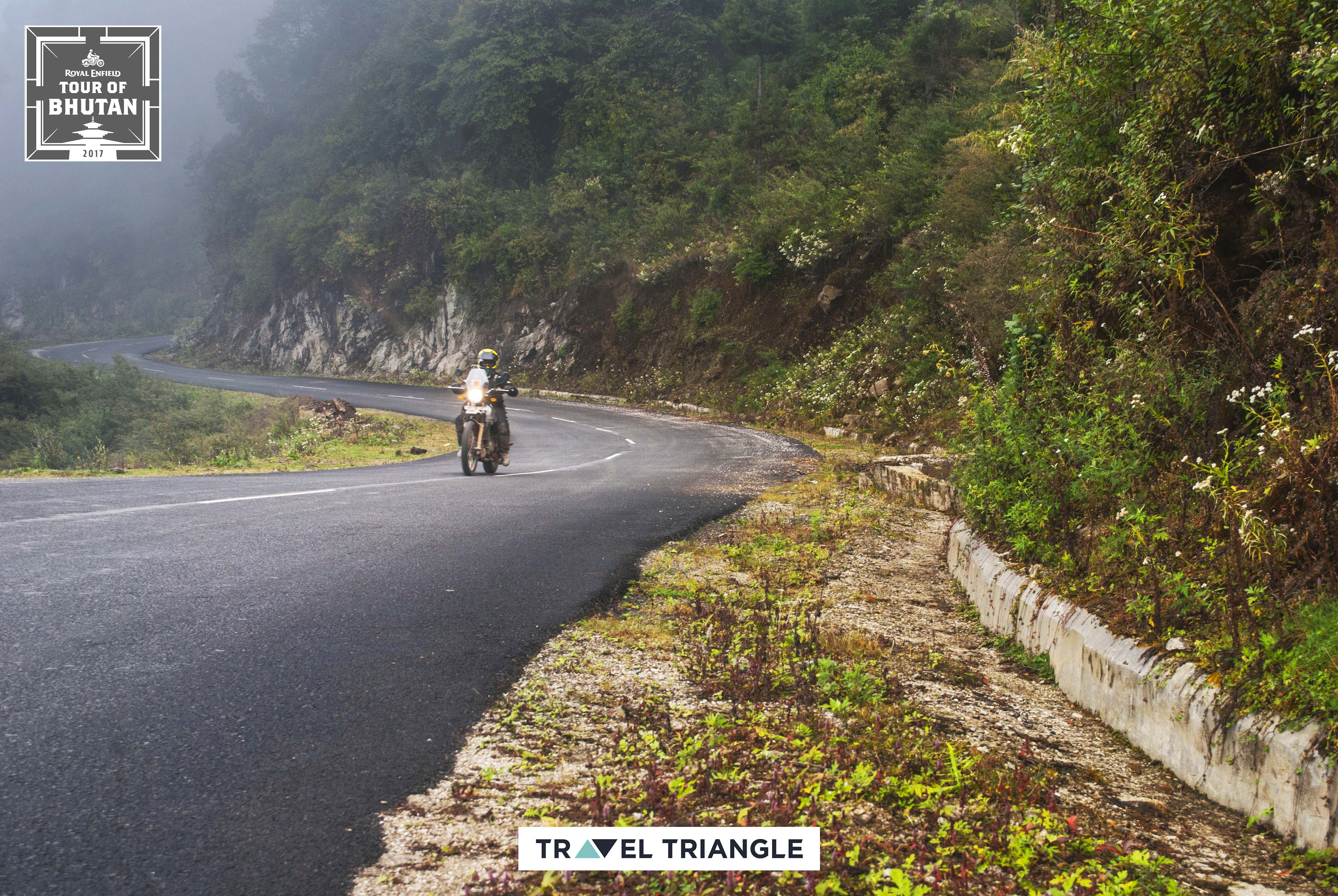 Trashigang to Samdrup Jongkhar: riding through mist and hills