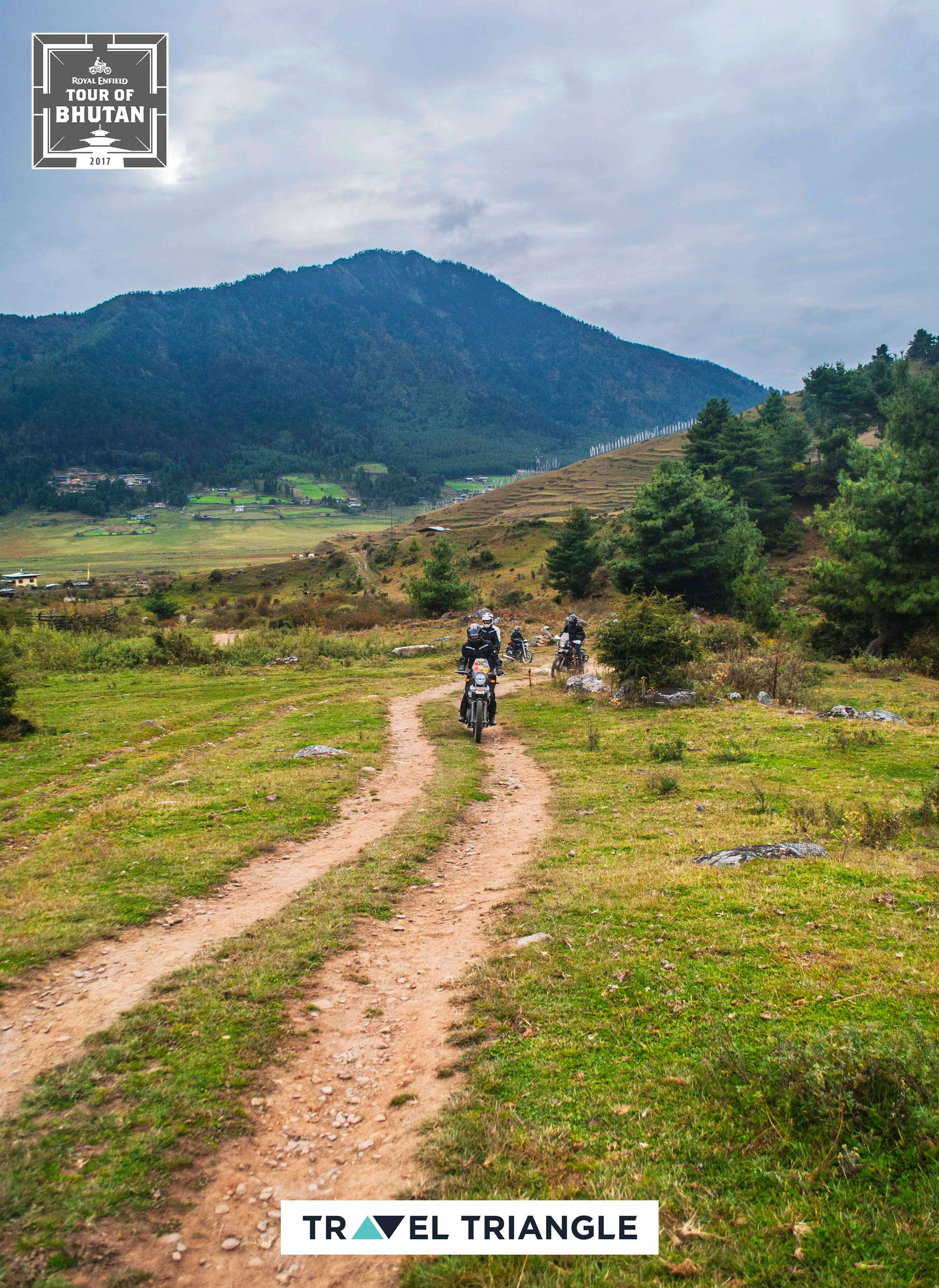 Punakha to Phobjikha: offroading in farms, hills