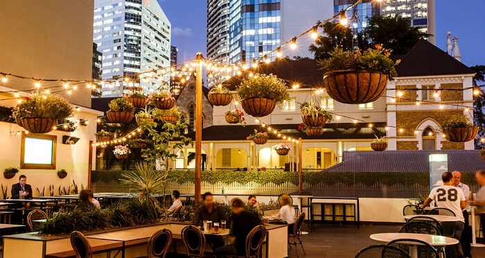dine at the Elixir Rooftop Bar