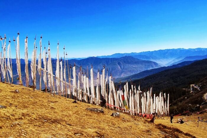 The Cheli La Pass in Bhutan