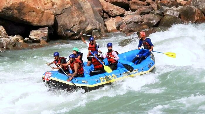 rafting in rishikesh