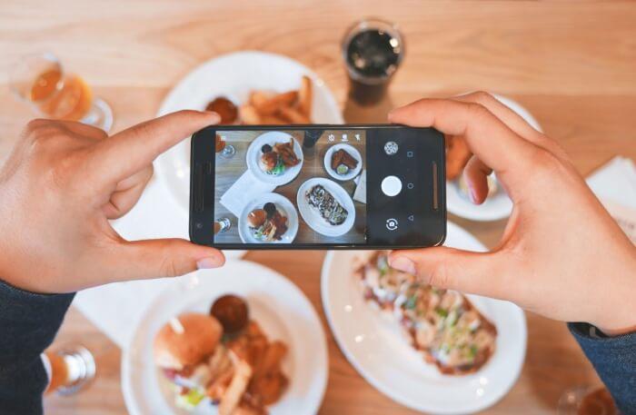 Selfie With Food