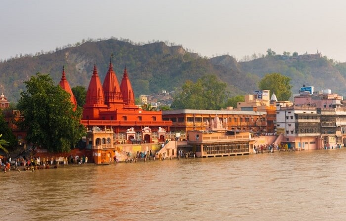 find spirituality in haridwar, one of the best places to visit in india in december
