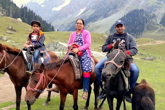 family holiday in Kashmir