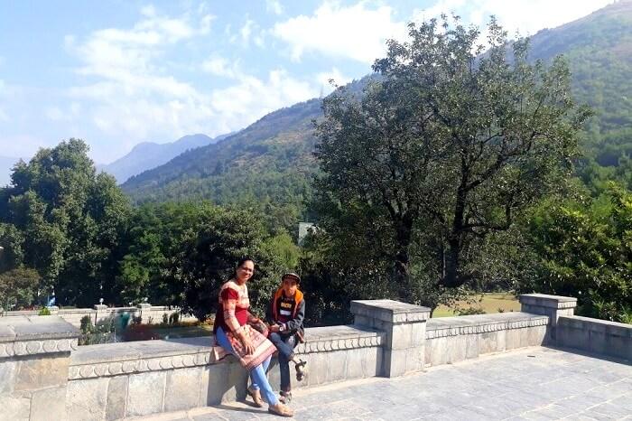 scenery in Kashmir