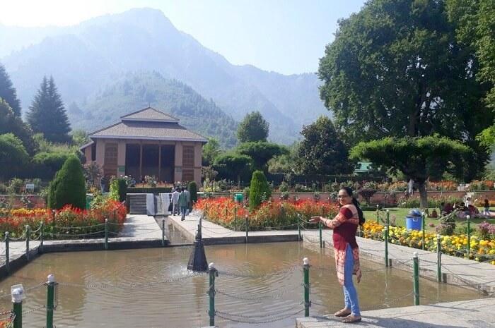 fountains in Kashmir