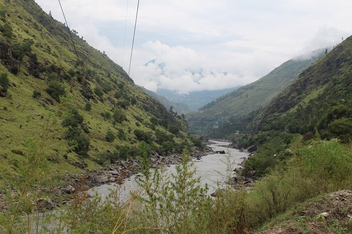 Beautiful valley view in Sarahan