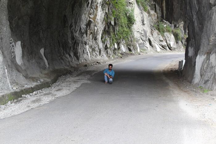 Enjoying our journey towards Chitkul