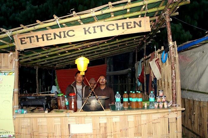 food in Ziro
