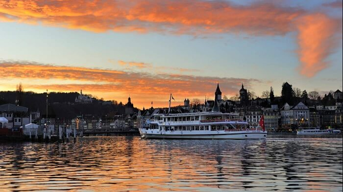 Lake Lucerne Dinner Cruise