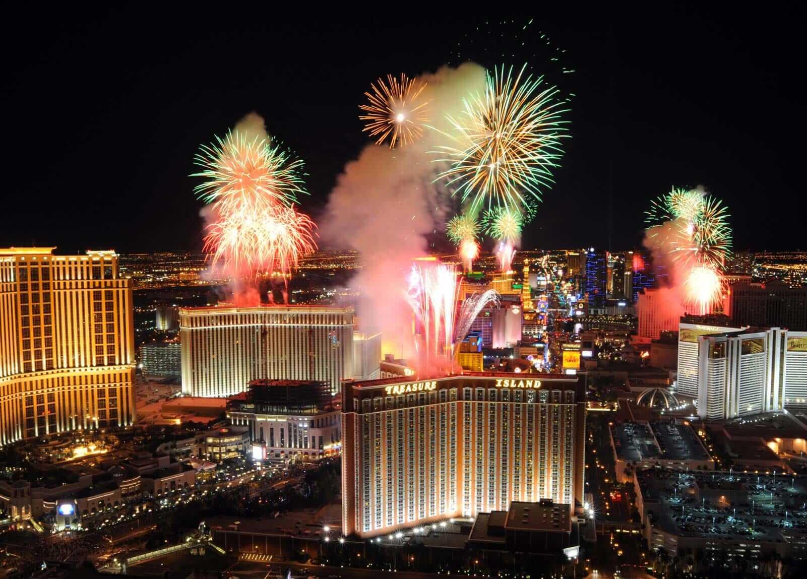 Las Vegas firework