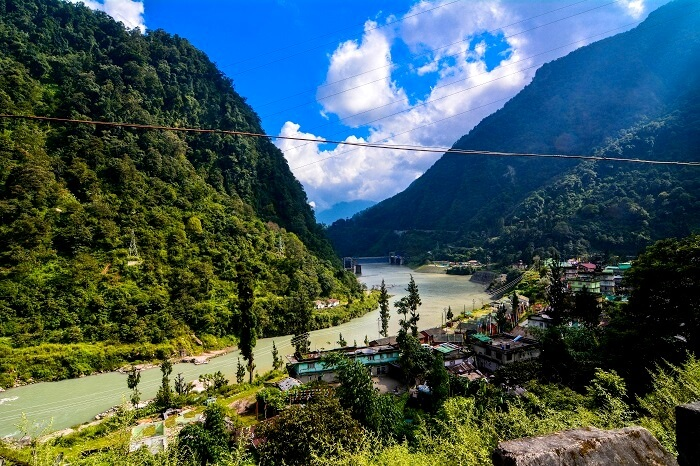 river in sikkim