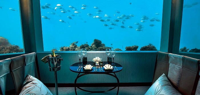 largest underwater restaurant m6m