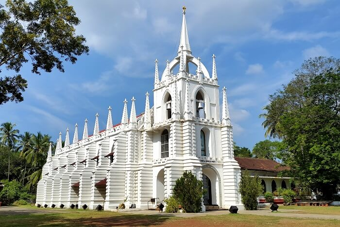 visit Mae De Deus Church in goa