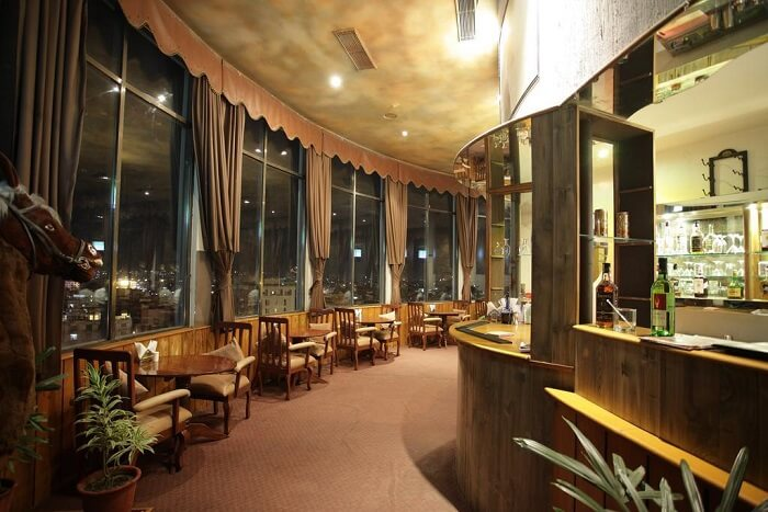 have a rotating meal and check out the city's awesome views from Om Revolving Restaurant