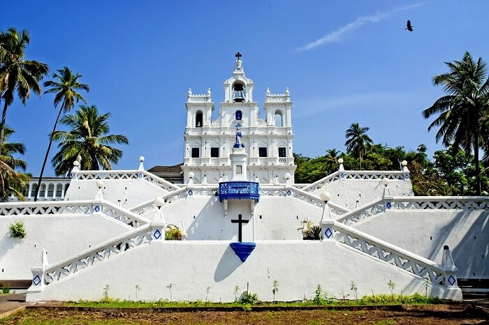 visit Our Lady of Immaculate Conception in goa