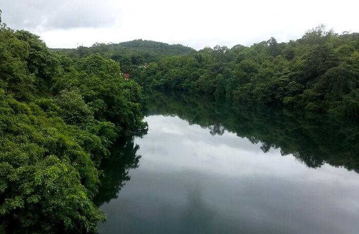River Kali View