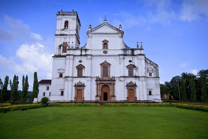 Se Cathedral, one of the best churches in goa