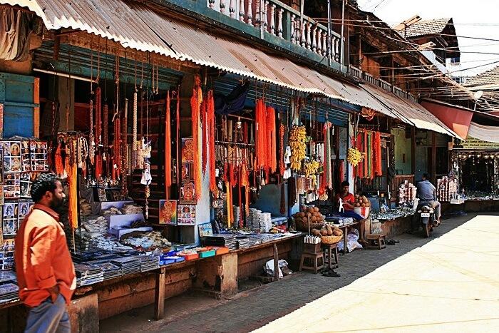 Shop At The Local Flea Market in gokarna
