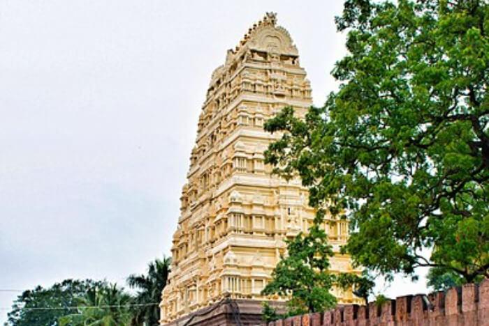View of Sri Mallikarjuna Temple