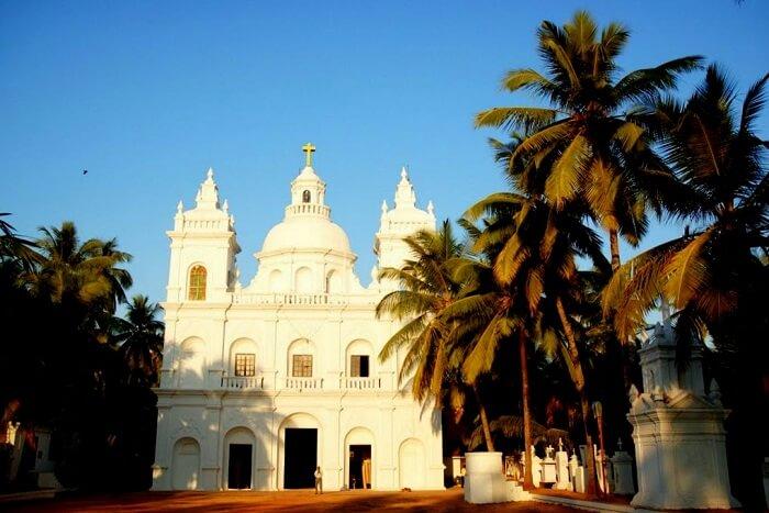 visit St Alex Church in goa
