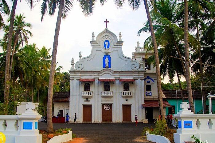 visit St. Elizabeth's Church in goa