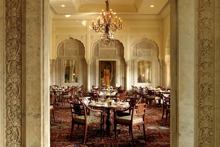 dine like royalty at The Rajput Room