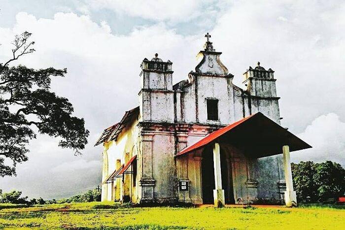 visit Three Kings Chapel in goa
