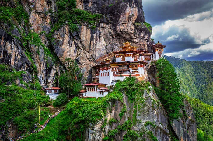 Trek To The Tiger Nest in Bhutan