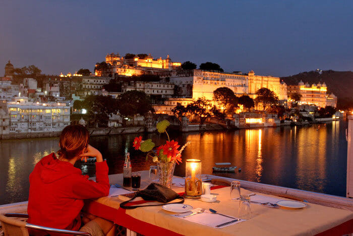dine at Upré by 1559 AD, one of the best restaurants in udaipur