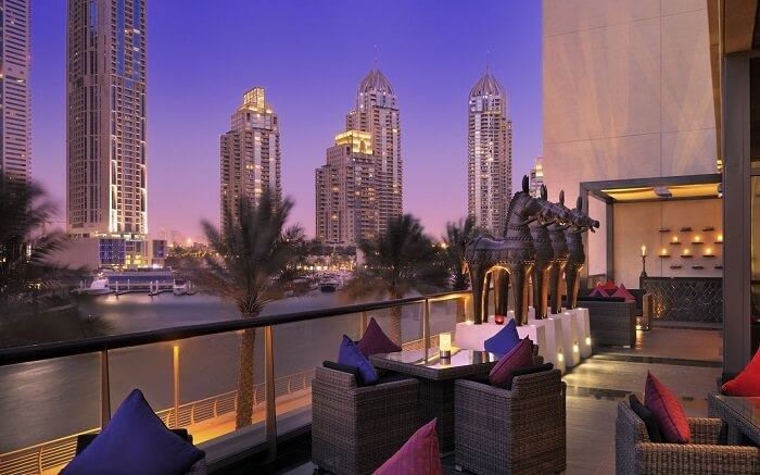 View from Indego by Vineet in Dubais