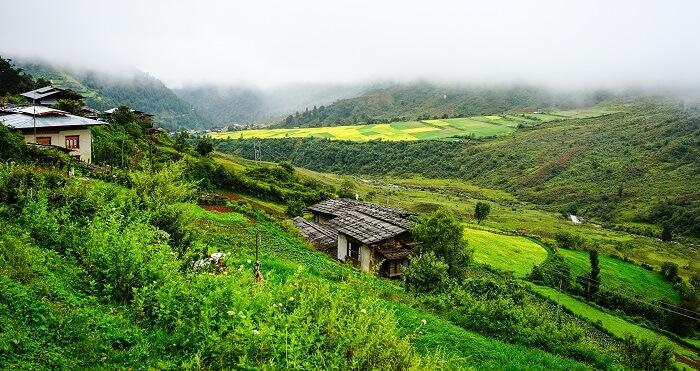 Weather of Bhutan in December