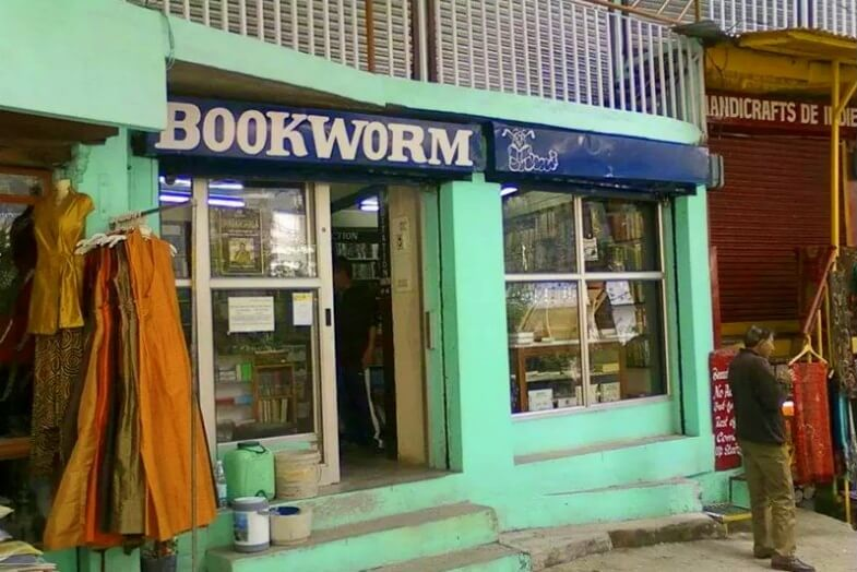 bookworm in mcleodganj