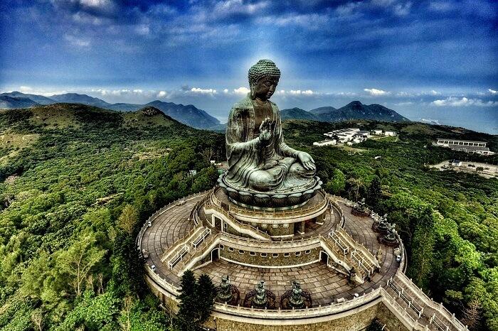 tian tan buddha po lin monastery