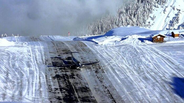 ice on runway