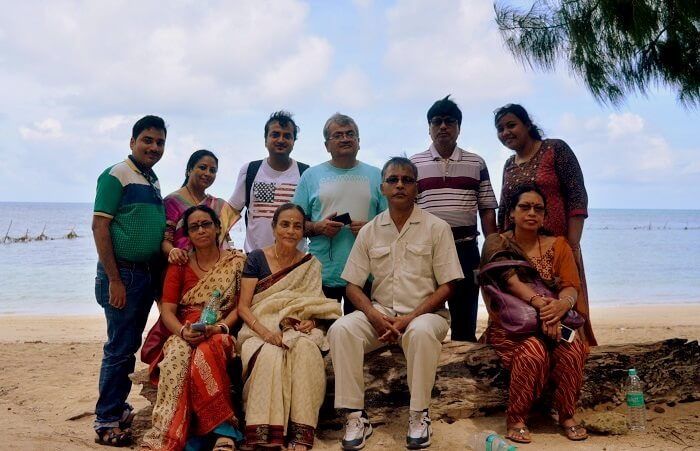 family trip to andaman
