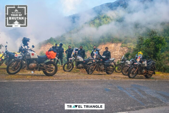 the royal enfield bike trips 2017 group