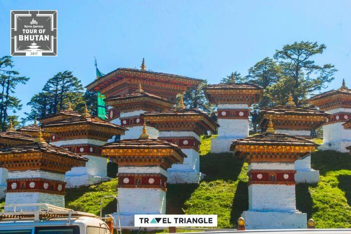 a war memorial in bhutan