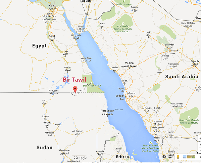 location of bir tawil
