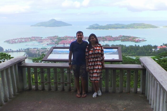 Romantic Couple in Praslin Island, Seychelles