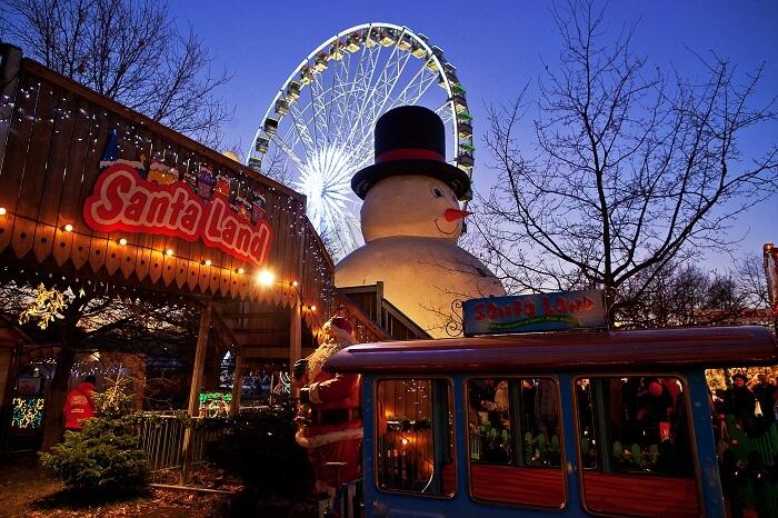 Santa Land at Winter Wonderland Hyde Park