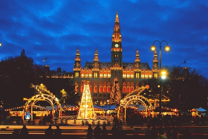 Christmas at Salzburg, Austria