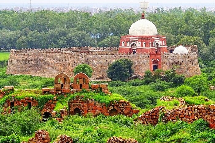 Tughlaqabad Fort, New Delhi