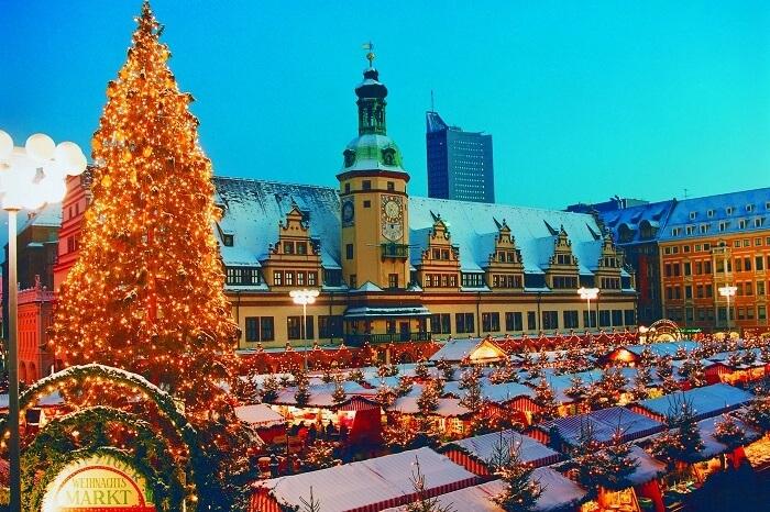 Christmas in Leipzig, Germany