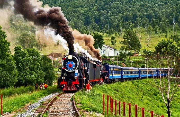 Trans Siberian Railway Network